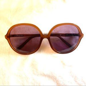 3.1 Phillip Lim oversized round frame sunglass…